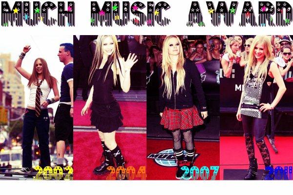 Much Music AwardNewsletter