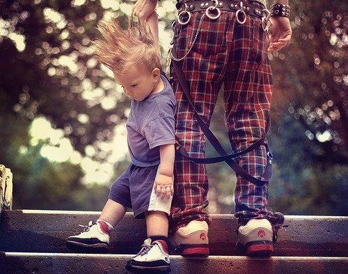 Les moments père fils
