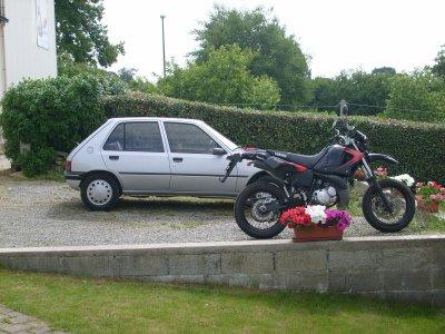 ma voiture et ma moto
