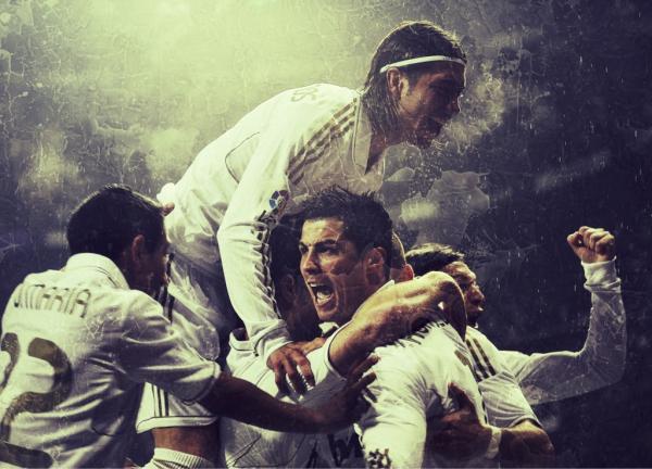 Real Madrid, une véritable raison d'être heureux.