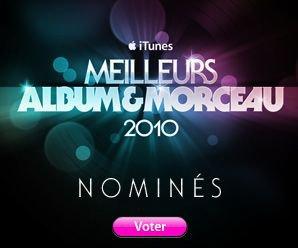 Ke$ha nominée aux Meilleurs album et morceau 2010 iTunes!