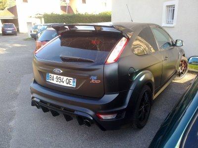 ford focus rs edition limité noir mat