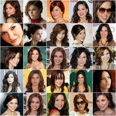 les différents visages de miss bush xD ♥