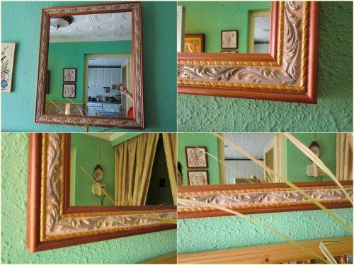mon miroir de l entrée....