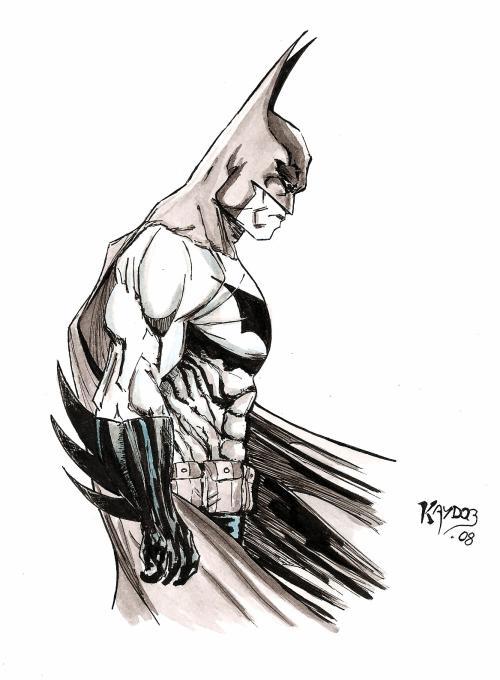 Batman Dessin Manga Comics
