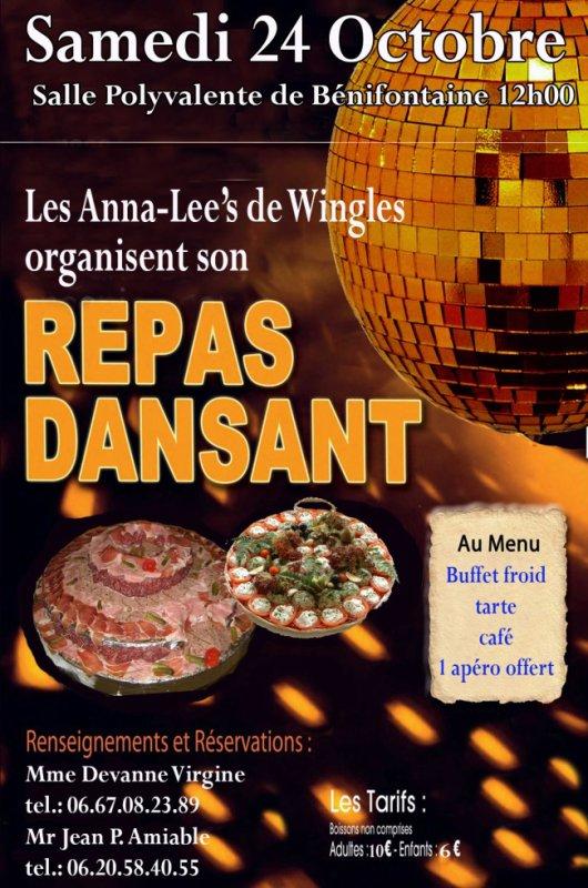 Repas dansant des Anna -Lee's