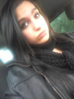 Dans la voiture ;)