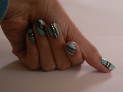Tuto nail art: Le scotch