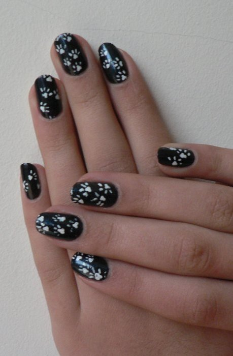 Nail art: Pattes de chat
