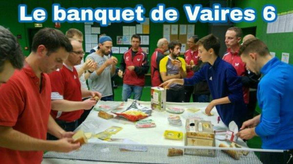Championnat J1 : le banquet