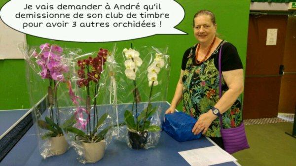 Merci à André et Rosine