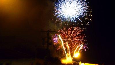Ano Novo Fogos na Igreja da Penha!!!!!