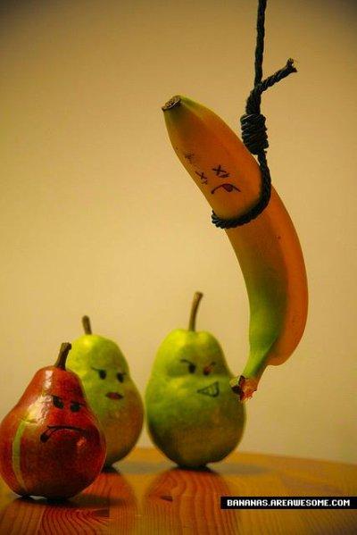 la banane avec les poires (l)