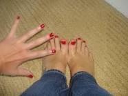 Mes main et mes pied