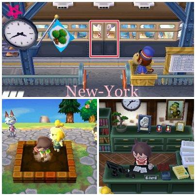 L'arriver dans ma Ville : New-York