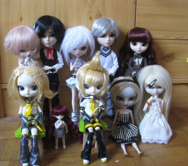 My Doll's family