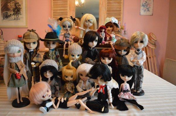 Doll's family Avant/Après :D