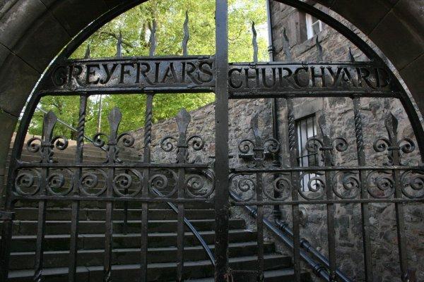 Le Cimetière de Greyfriars Kirkyard
