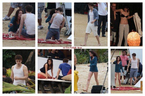 ... 17.11.10 Nouvelles images du tournage de Breaking Dawn !...