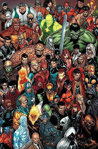 MARVEL & DC!!!