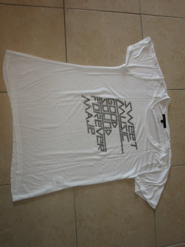 "Tshirt MAJE ""Rock"" Taille 1"