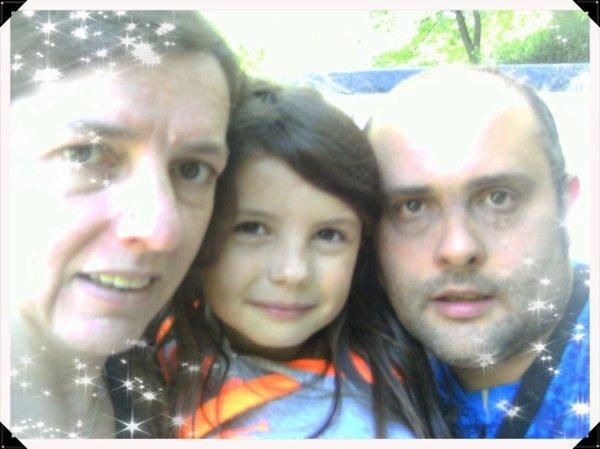 moi et ma fille et mon homme
