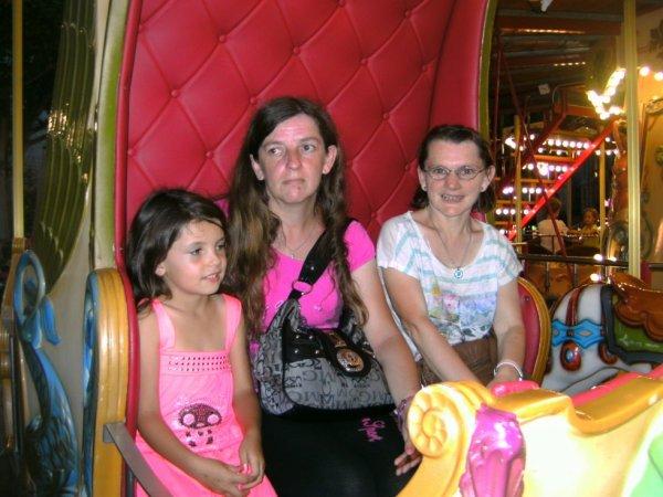 moi et ma fille et ma soeur