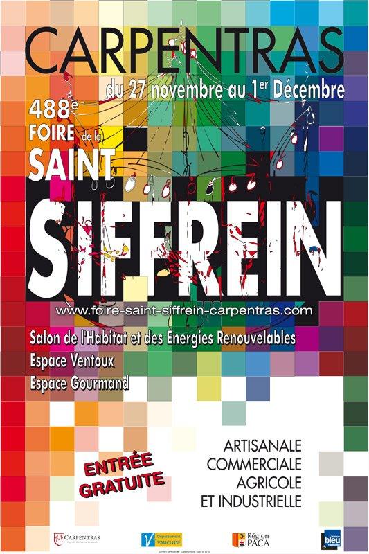 Foire de la Saint Siffrein carpentras 2013