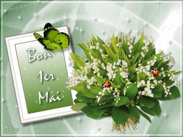 Bon 1er Mai à vous tous et toutes !!!
