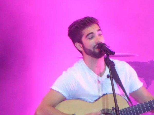 Kendji Girac en concert a Carpentras 25.07.2015