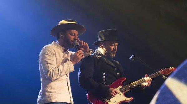 Le concert de Christophe Maé à Carpentras