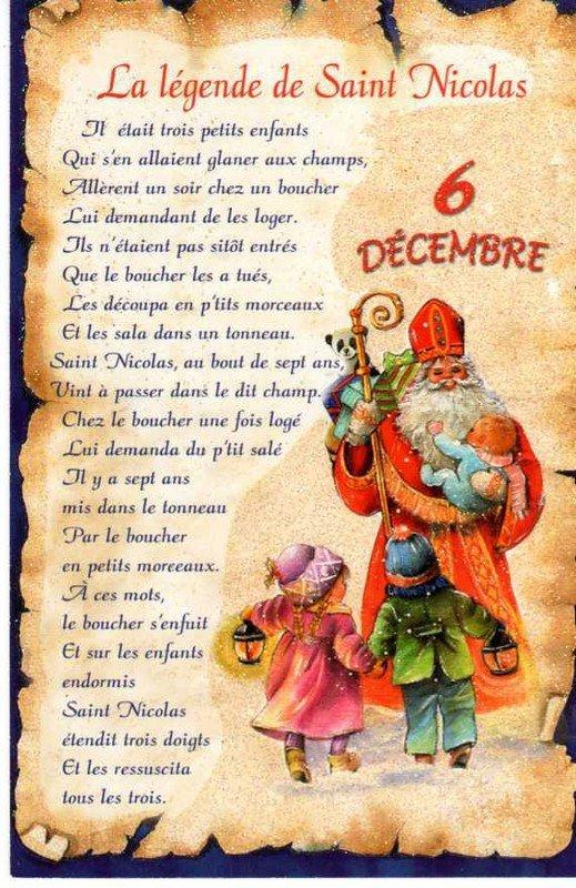 La Saint-Nicolas du 6 décembre 2017