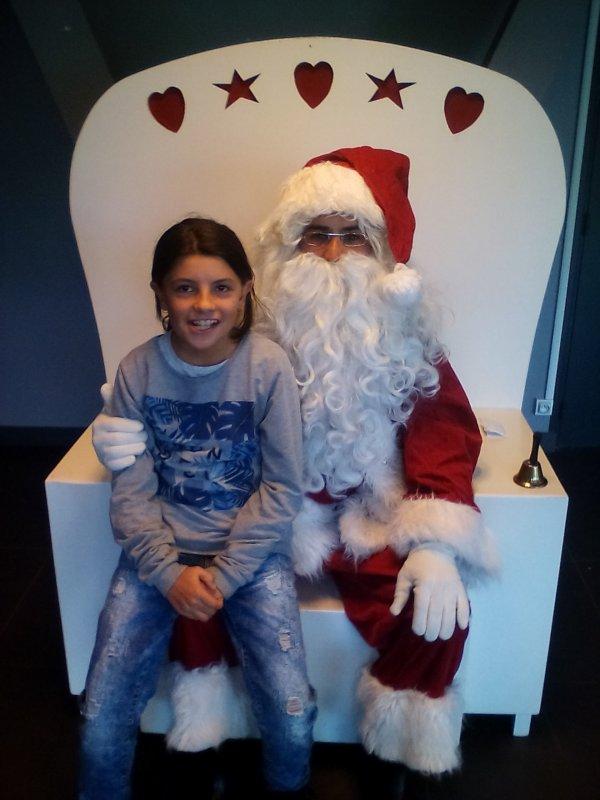 Ma fille est le père Noël