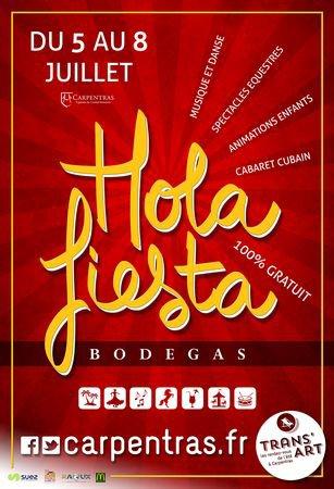 Hola fiesta Bodegas 2018