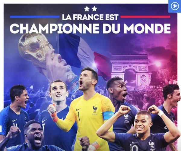 Les Bleus champion du monde