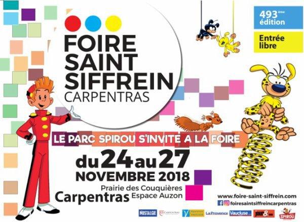 Foire Saint Siffrein Carpentras 2018