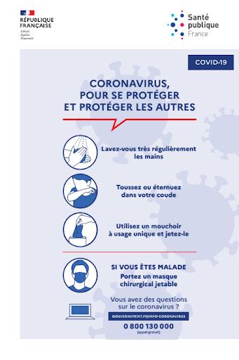 Restez chez vous Coronavirus covid-19