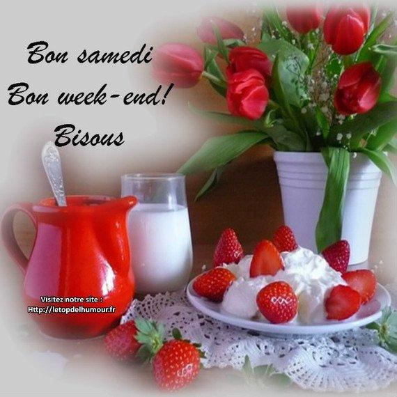 Bon samedi et bon weekend à tous