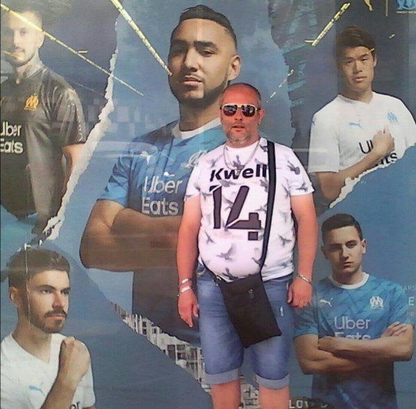 Mon homme est la fille Olympique de Marseille