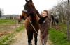 Moi et les chevaux que j'aime ma passions