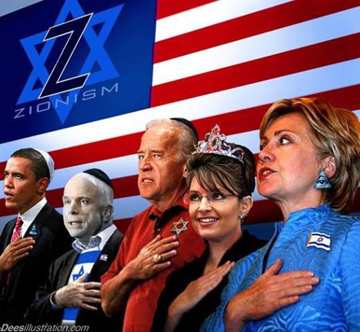 """""""When the world looks at America, what it sees is an Israeli colony. """"- Paul Craig Roberts."""