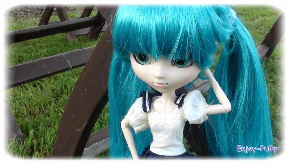 Séance photo dehors avec Sakura (Partie 1)
