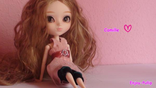 Première séance photo de Camille