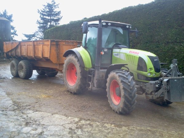 arion 610 et rolland 15 t