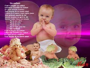 Poeme Pour Les Bebe Estelle