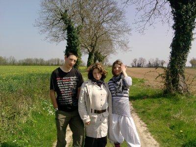 sandra & mooa & alexis =)
