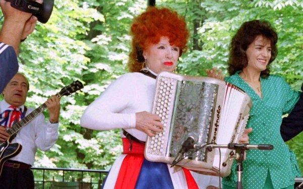 La célèbre accordéoniste Yvette Horner est morte