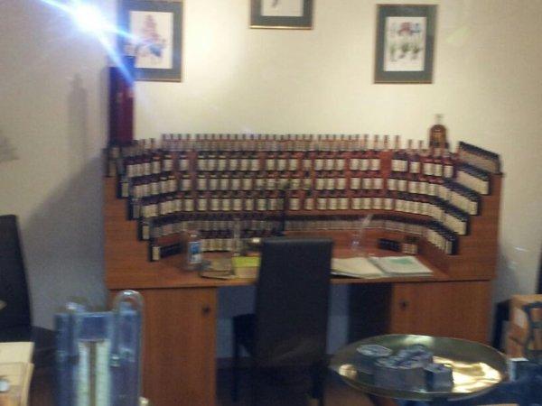 Voici un orgue pour créé quelque note de parfum