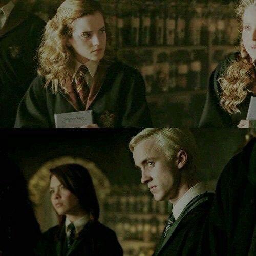 Drago et Hermione