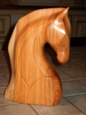 cheval george francis sculpture sur bois amateur d 39 art. Black Bedroom Furniture Sets. Home Design Ideas